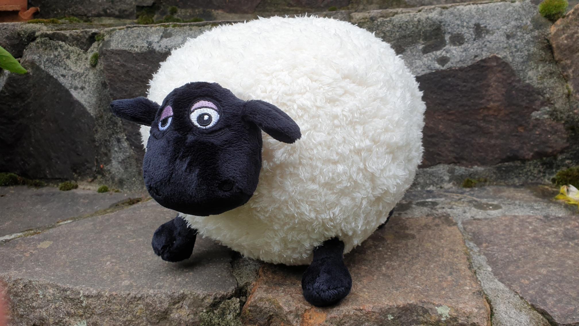 Unser Maskottchen: Shaun, the godless sheep