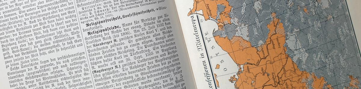 Eintrag Religionsfreiheit aus dem Großen Brockhaus von 1925